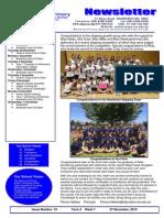 Newsletter 28 November 2013