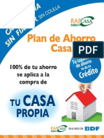 Folleto Plan Ahorro
