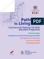 National Life Skills Education Programme 2013