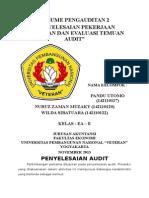Resume_klp8(Delapan)_penyelesaian Pekerjaan Lapangan Dan Evaluasi Temuan Audit