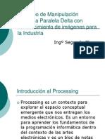 Prototipo de Manipulación Robótica Paralela Delta con reconocimiento