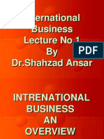 International Business - MGT520 Power Point Slides Lecture 01