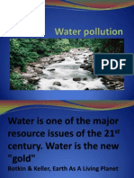 Chapter 2 - Water Pollution, Enviromental Pollution and Control