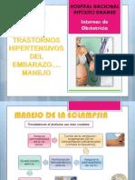 Transtornos Hipertensivo Del Embarazo