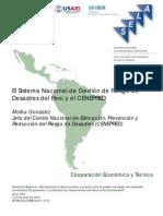 Di-10 CENEPRED Sistema Nacional Gestion Riesgo Desastres Del Peru Melva Gonzalez