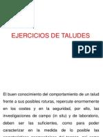 Ejercicios de Taludes