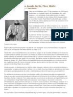 Beato Ángel Darío Acosta Zurita, Pbro
