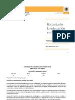 Historia de La Educacion en Mexico Lepree[1]