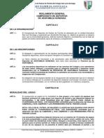 Reglamento General Del Campeonato de Deportes Ueslg 2013