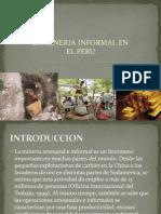Mineria Infomal en El Peru