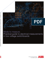 Made to Measure. Practical Guide to Electrical Measurements in Low Voltage Switchboards