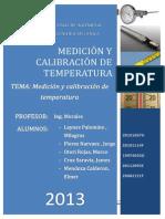 Laboratorio de Medicion y Calibracion de Temperatura