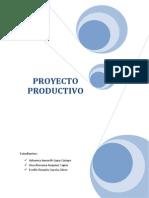 Proyecto Productivo- Evelin Garcia