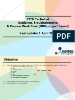 FTTH Technical Process Flow, Troubleshooting & FAQs-V1-Ukm v3