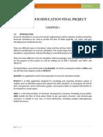 Simulation Final Project(Fall 2011)
