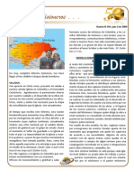 Boletin 104 Informe Misionero Honduras Julio 2009