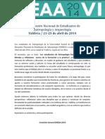 Invitación ENEAA 2014