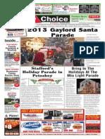Weekly Choice - November 27, 2013