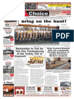 Weekly Choice - November 21, 2013