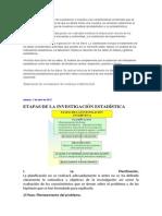 Selección y determinación de la población o muestra y las características contenidas que se desean estudiar