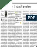 La gestión pública de los conflictos sociales - Irma Montes Patiño