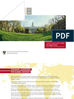harvard business school training calendar 2014