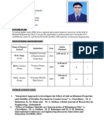 CV of MOHAMMED ZIAUR RAHAMAN