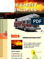 FIRE SAFETY PRINCIPLES
