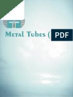 Metal Tubes Catalog