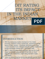 Credit Rating and its impact in India