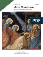 Laudate Dominum Jilid 2 - Seri Nyanyian Adven & Natal