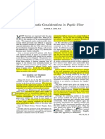 Psychosomatic Consideration in Peptic Ulcer