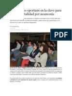 23/11/13 elrancahuaso Diagnóstico oportuno es la clave para evitar mortalidad por neumonía