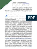 Fibromialgia Estrategias Contemporaneas en El Manejo