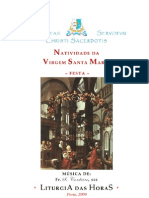 Livro de Horas - Natividade Da Virgem Santa Maria
