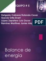 Presentacion Balance de Energia