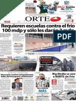 Periódico Norte de Ciudad Juarez 28 de Noviembre de 2013