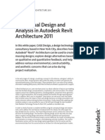 Conceptual Design in Revit Architecture Whitepaper