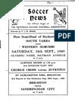 Soccer News 1949 September 10