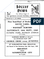 Soccer News 1949 September 10