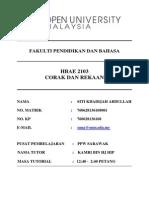 Assignment HBAE 2103 Corak Dan Rekaan
