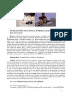 Um Ensaio Crtico Sobre a Pobreza de Malthus a Sachs