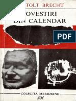 Bertold Brecht - Povestiri Din Calendar