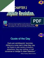 Dispute Resolution Ch23683