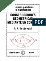 Construcciones geométricas mediante un compás - Kostovski