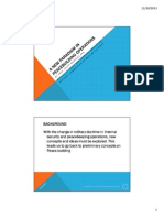 A New Paradigm in Peacebuilding Operations Updated