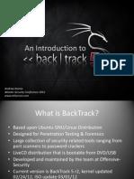 Andrew Kozma an Introduction to Backtrack 5 Atlseccon2012