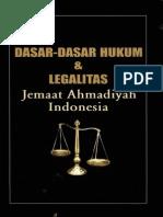 Dasar-dasar Hukum & Legalitas Jemaat Ahmadiyah Indonesia