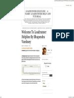 Loadrunner Helpline - A Dynamic Loadrunner Help and Tutorial_ Loadrunner Analysis Graphs