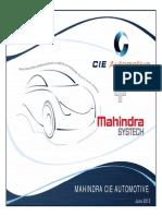 CIE Mahissndra Presentation